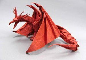 Dragon de Origami